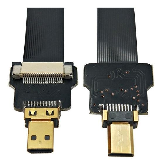 Cyfpv Micro Hdmi Macho X Micro Hdmi Macho Para Dslr, Drone