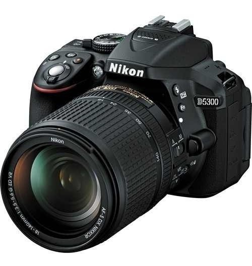 Camera Nikon D5300 Kit 18-55mm C/nota Fiscal E Garantia
