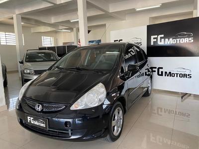 Honda Fit Lxl 2007 Manual Em Ótimo Estado