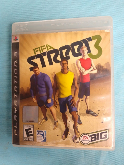 Jogo Fifa Street 3 Playstation 3 Mídia Física