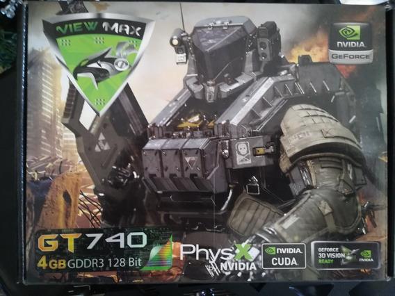 Tarjeta De Video Nvidia Gt-740 De 4gb Casi Nueva