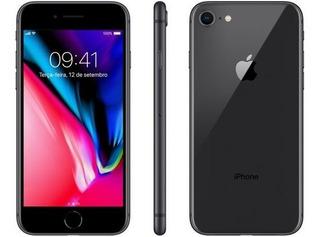 Apple iPhone 8 64gb Cinza - Anatel Lacrado - Pronta Entrega!