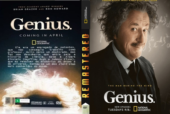 Box Genius A Vida De Albert Einstein 8 Dvd