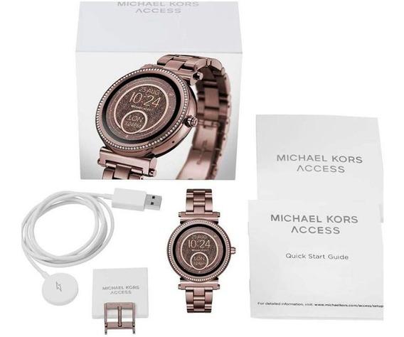 Michael Kors Sofie Smartwhatch Mkt5030 Chocolate - P.entrega