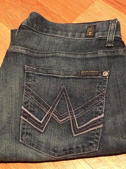 Jeans Mujer 7 For All Mankind - Talla 30 Nuevo Sin Etiqueta