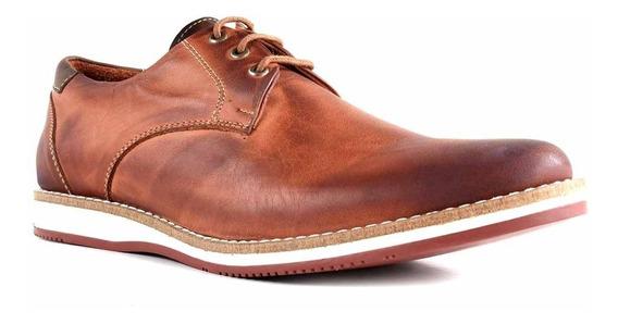 Zapato Cuero Hombre Briganti Moda Goma Sport Hcac00752 2