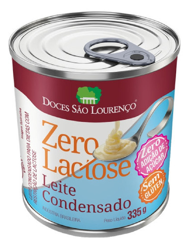 Imagem 1 de 3 de Leite Condensado Zero Lactose Zero Açúcar  Sl 335g