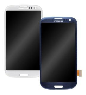 Modulo Lcd Pantalla Touch Samsung S3 (i9300) C/ Marco