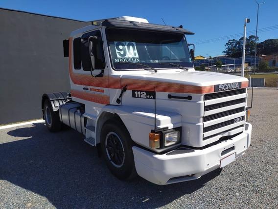 Caminhão Scania 112 Hw 360 4x2 Toco Unico Dono