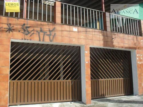 Sobrado Com 3 Dormitórios Para Alugar, 150 M² Por R$ 2.000,00/mês - Assunção - São Bernardo Do Campo/sp - So0554