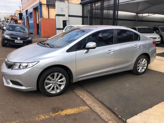 Civic 1.8 16v 4p Flex Lxl Automático2012