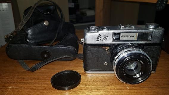 Câmera Analógica Antiga Eastar Lente 1:2.8 F=50mm