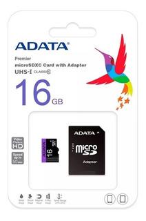 Memoria Micro Sd 16gb Adata Premier Original
