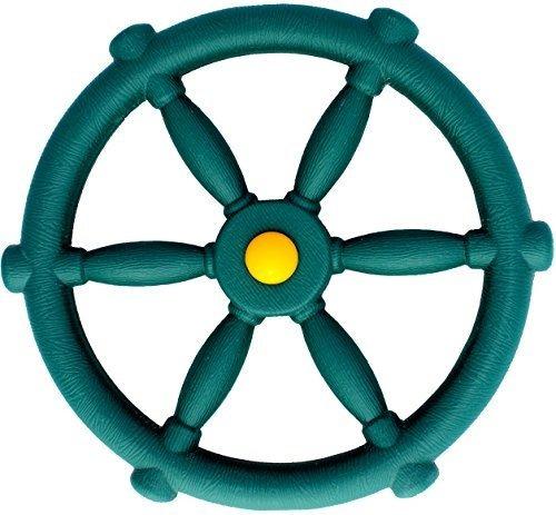 Jungle Gym Kingdom Pirate Ships Wheel - Verde