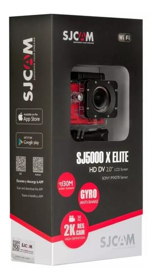 Camera Sjcam Sj5000x 4k Original Wifi 120 Fps Elite Esportes