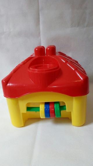 Casinha Infantil Centro De Atividades Com Bloco De Montar