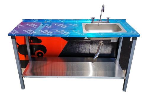 Lavaplatos Con Base De 150x50cm