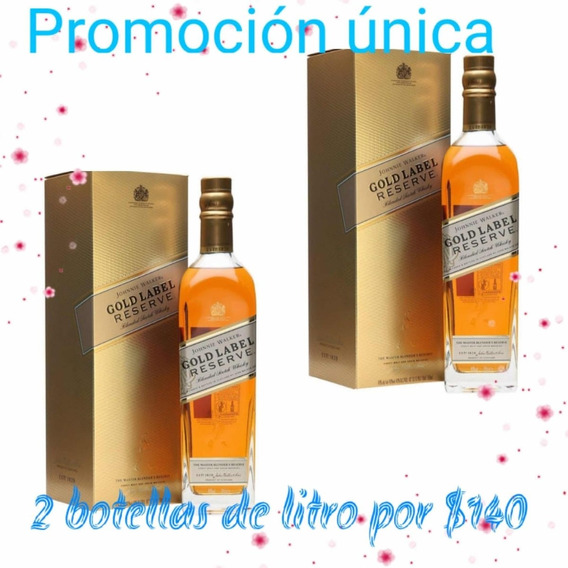 Whisky Jhonnie Gold Reserve X2 Guayaquil