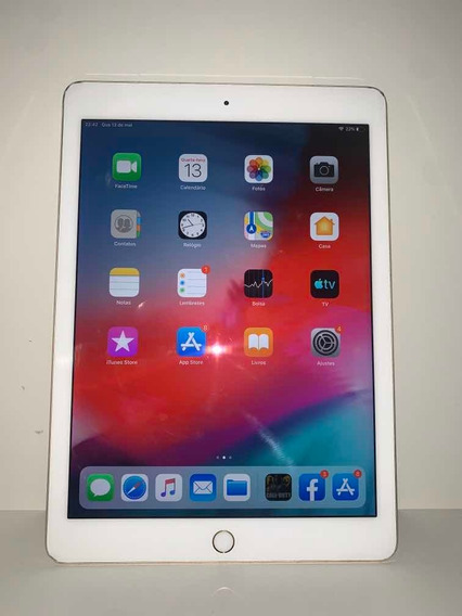 Apple iPad Pro 128gb 9.7 4g Wifi Gold 12x S/juros