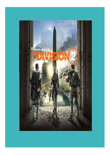 Tom Clancys The Division 2 Ps4 !!!!