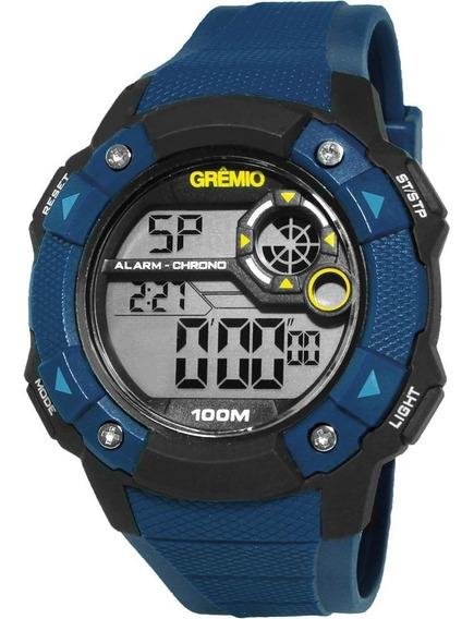 Relógio Masculino Technos Clubes Digital Grêmio Gre1360b/8a