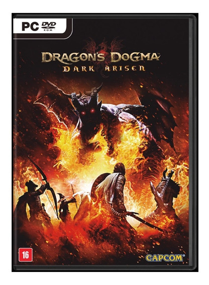 Jogo Rpg Dragons Dogma: Dark Arisen Pc Midia Fisica Lacrado