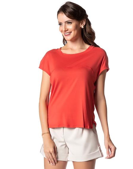 Blusa Sunny Days Camiseta Dia A Dia Trabalho Cores (11511)