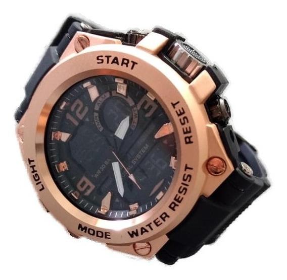 Relógio Masculino Original De Luxo A Prova D