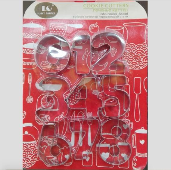 Moldes De Aluminio Letras O Numeros | Chooper | Bz1-005