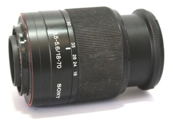 Objetiva Lente Sony 18-70mm 3.5-5.6 P/ Retirada De Peças