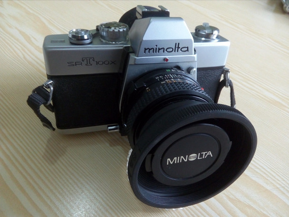 Cámara Fotográfica Minolta Filtros Lentes Flash Accesorios