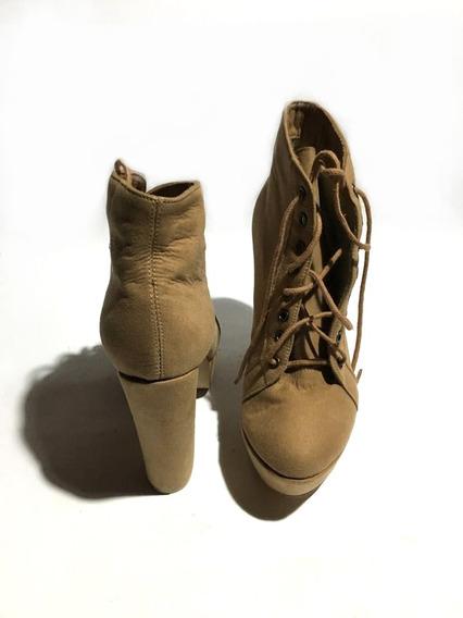 Botas Zapatos De Mujer Un Uso - Luna Chiara - ¡impecables!