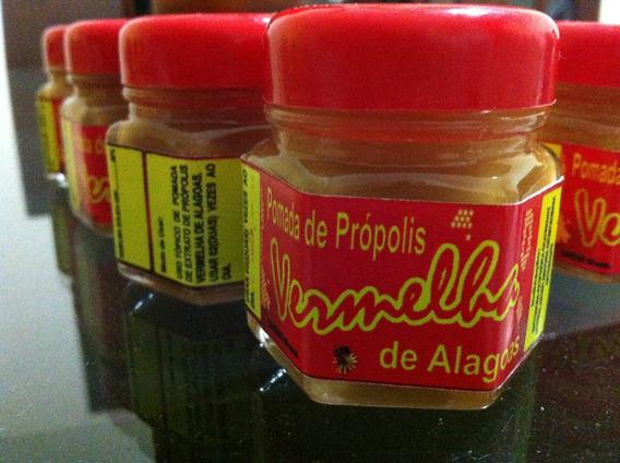 Pomada Própolis Vermelha Alagoas 04 Unidades Frete Gratis
