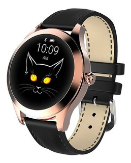 Relógio Inteligente Kingwear Kw10 Smartwatch Mulheres Rosa