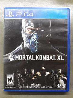 Mortal Kombat Xl - Ps4 - Físico - Excelente Estado!!!