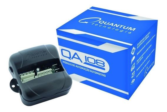 Modulo Vidro Quantum Qa108 Plus Automação P/ Alarme Original