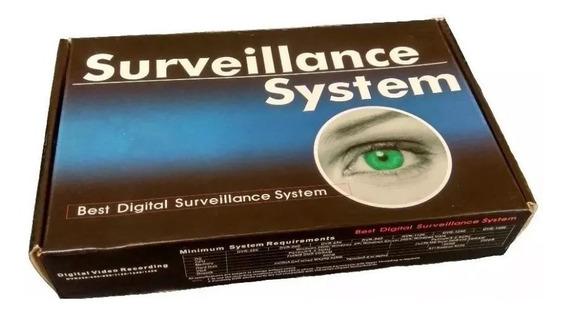 Geovision Gv250 /placa Pico 2000 P/4 Câmeras Acesso Internet