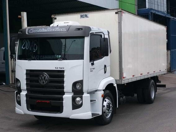 Caminhão Vw 13-180 Bau Top !!