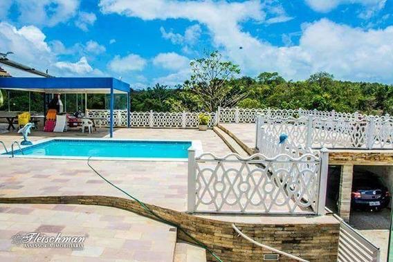 Chácara Com 7 Dormitórios,piscina,área De Lazer,sala De Jogos E Slão De Festas- Nova Cruz - Igarassu/pe - Ch0023