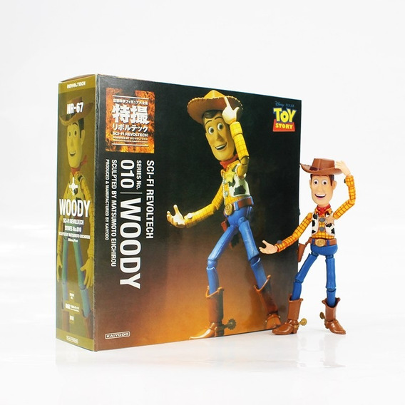 Action Figure Toy Story Woody Revoltech Sci-fi No.010