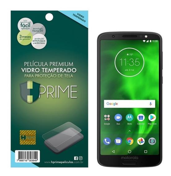 Película De Vidro Hprime Moto G6 | Moto G6 Plus | G6 Play