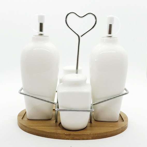 Set Aceitera/vinagrera/sal/pimienta
