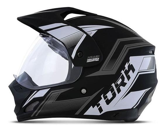 Capacete Motocross Th1 New Adventure Pro Tork Feminino