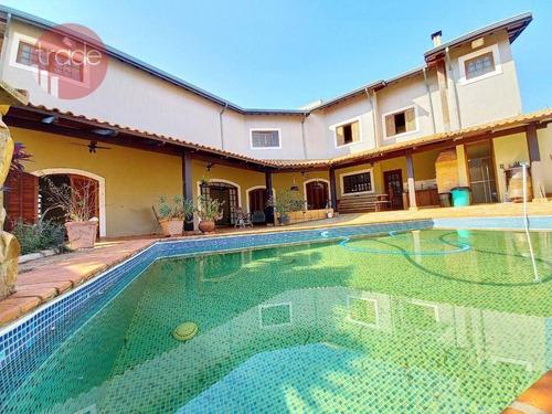 Imagem 1 de 30 de Casa Com 4  Suítes  À Venda, 410 M² Por R$ 850.000 - City Ribeirão - Ribeirão Preto/sp - Ca4277