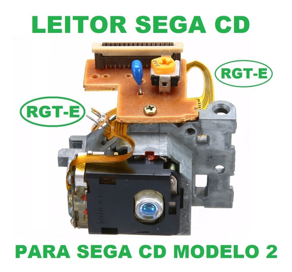 Leitor Para Sega Cd Modelo 2 Optima 6s Opt-6