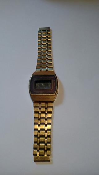 Sucata Caixa Relógio Citizen Digital Gn 4-s Dourado