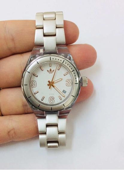 Relógio adidas Feminino Novo Pulseira De Alumínio