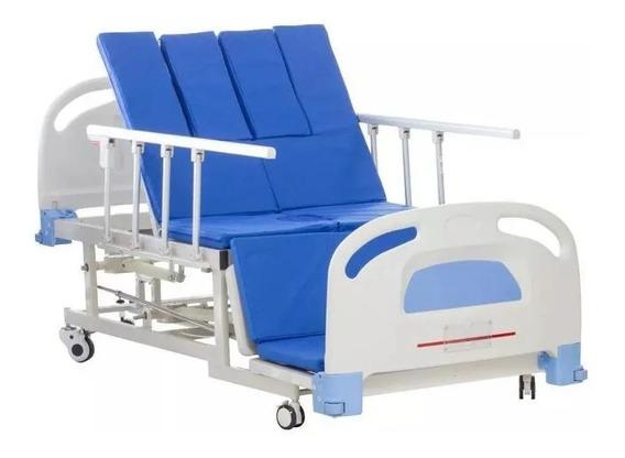 Cama Hospitalaria Y Silla Cardiaca Con Cómodo Y Colchón