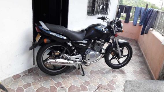 Moto Suzuki Gs 125 Negra