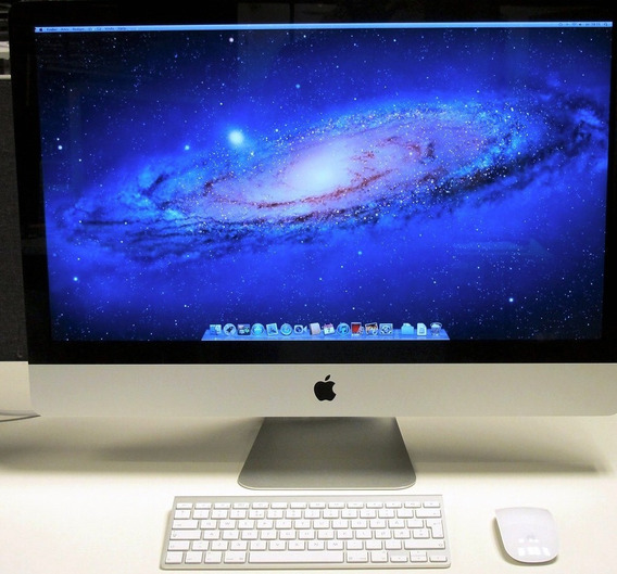 Apple 27 iMac I7 Quadcore Ssd+1tb Hd 12gb Ram